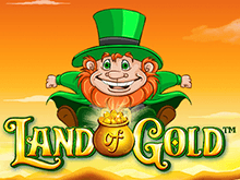 Мобильная версия игрового слота онлайн Land Of Gold
